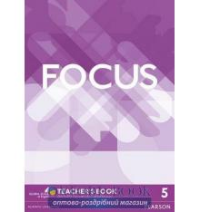 Focus 5 Teacher's Book with DVD