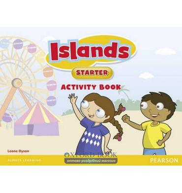 Islands Starter Activity Book with pincode