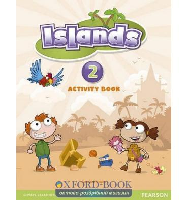 Islands 2 Activity Book with pincode