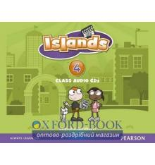 Islands 4 Class Audio Cds