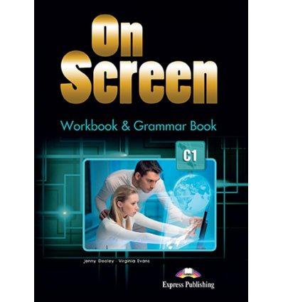 On screen C1 Workbook & Grammar Book