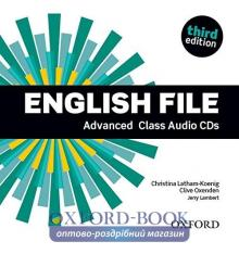 English File 3rd Edition Advanced	Class Audio CDs