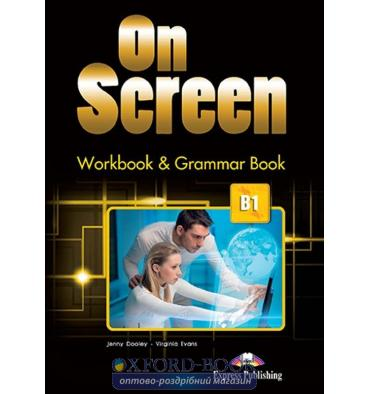 On Screen B1 Workbook And Grammar Book
