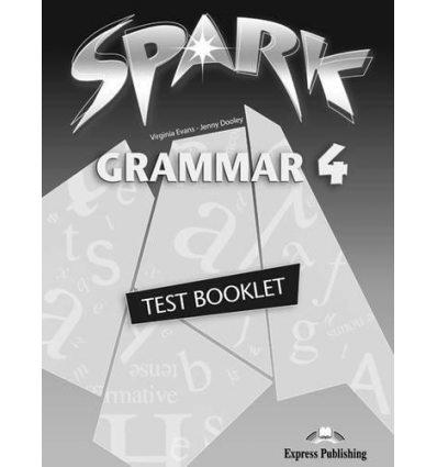 Spark 4 Grammar Test Booklet