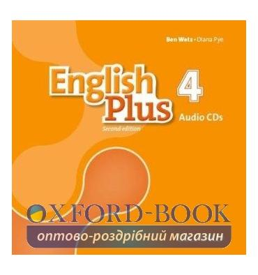 English Plus 2nd Edition 4 Class CDs
