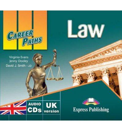 Career Paths Law Class CDs