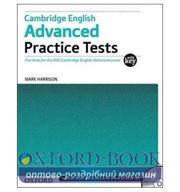 Cambridge English Advanced Practice Tests with key and Audio CDs