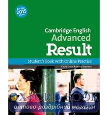 Cambridge English Advanced Result Student's Book with Online Practice