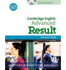 Cambridge English Advanced Result Teacher's Book with DVD
