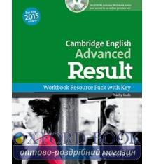 Cambridge English Advanced Result Workbook with key and MultiROM