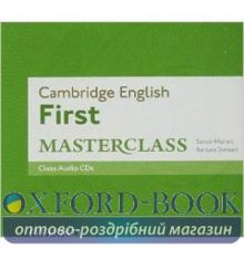 Cambridge English First Masterclass Audio CDs