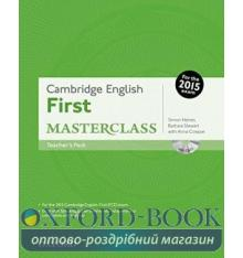 Cambridge English First Masterclass Teacher's Book with DVD
