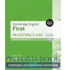 Cambridge English First Masterclass Workbook with key and MultiROM