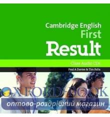 Cambridge English First Result Class CDs