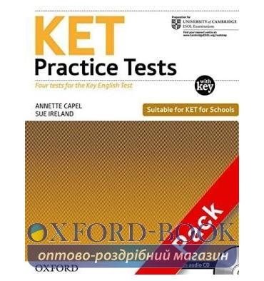 Cambridge English KET Practice Tests with key and Audio CDs