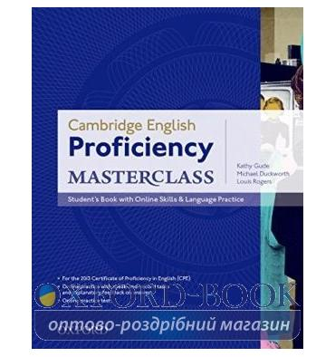 Cambridge English Proficiency Masterclass Student's Book with Online Skills and Language Practice