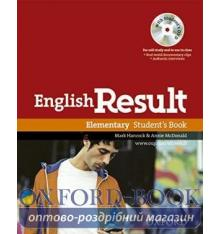 English Result Elementary Student's Book with DVD
