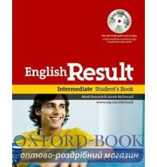 English Result Intermediate Student's Book with DVD