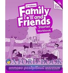 Family and Friends 2nd Edition Starter Workbook with Online Practice