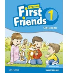First Friends 2nd Edition 1 Class Book with MultiROM