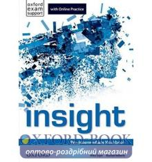 Insight Pre-Intermediate Workbook with Online Practice