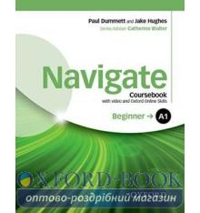 Navigate Beginner A1 Class Book with DVD and Online Skills