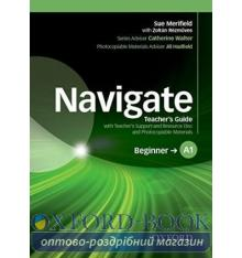 Navigate Beginner A1 Teacher's Guide and Teacher's Support and Resource Disc