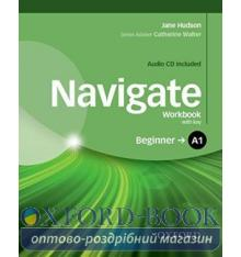 Navigate Beginner A1 Workbook with Audio CD and key