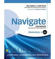 Navigate Elementary A2 Class Book with DVD and Online Skills