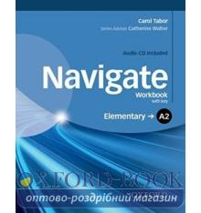 Navigate Elementary A2 Workbook with Audio CD and key