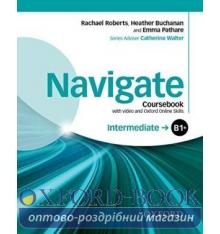 Navigate Intermediate B1+ Class Book with DVD and Online Skills