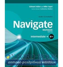 Navigate Intermediate B1+ Workbook with Audio CD and key
