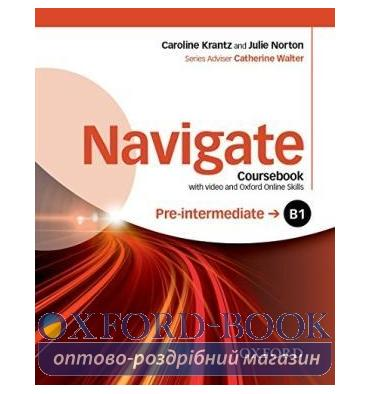 Navigate Pre-Intermediate B1 Class Book with DVD and Online Skills