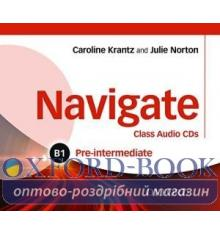 Navigate Pre-Intermediate B1 Class Audio CDs