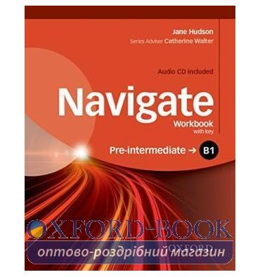 Navigate Pre-Intermediate B1 Workbook with Audio CD and key