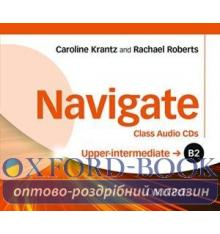 Navigate Upper-Intermediate B2 Class Audio CDs