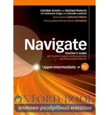 Navigate Upper-Intermediate B2 Teacher's Guide with Teacher's Support and Resource Disc