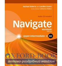 Navigate Upper-Intermediate B2 Workbook with Audio CD and key