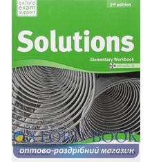 Solutions Elementary Second Edition: Workbook with Audio CD