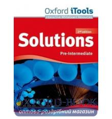 Solutions Pre-Intermediate Second Edition: iTools DVD-ROM
