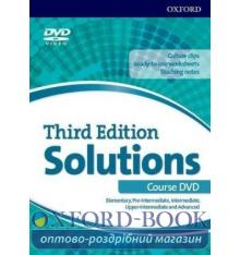 Solutions 3rd Edition Elementary-Advanced all levels DVD