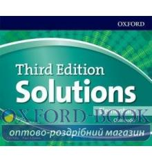Solutions 3rd Edition Elementary Class CDs