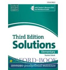Solutions 3rd Edition Elementary Teacher's Book with Teacher's Resource Disc