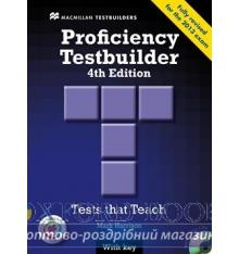Proficiency Testbuilder 4th Edition with key and Audio CDs and MPO