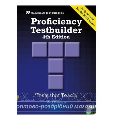 Proficiency Testbuilder 4th Edition without key with Audio CDs