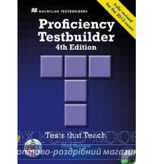 Proficiency Testbuilder 4th Edition without key with Audio CDs with MPO