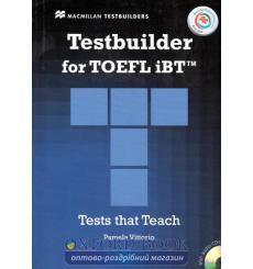 TOEFL iBT Testbuilder with key and Audio CDs and MPO