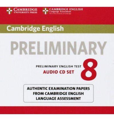 Cambridge English Preliminary 8 Audio CDs