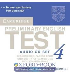 Cambridge Preliminary English Test 4 Audio CDs