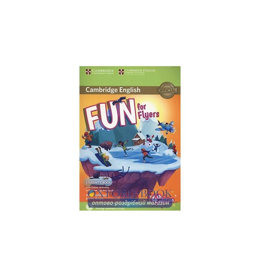 Fun for flyers student s book решебник